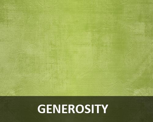 PTH Generosity