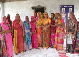 Women's Group in India