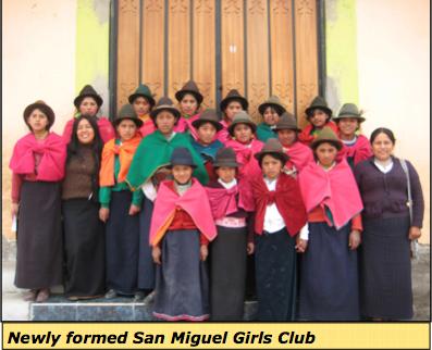 Ecuador Girls Club