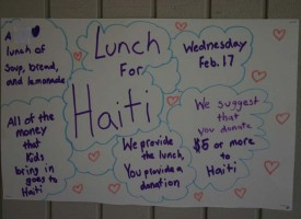 Rancho Romero – Lunch for Haiti